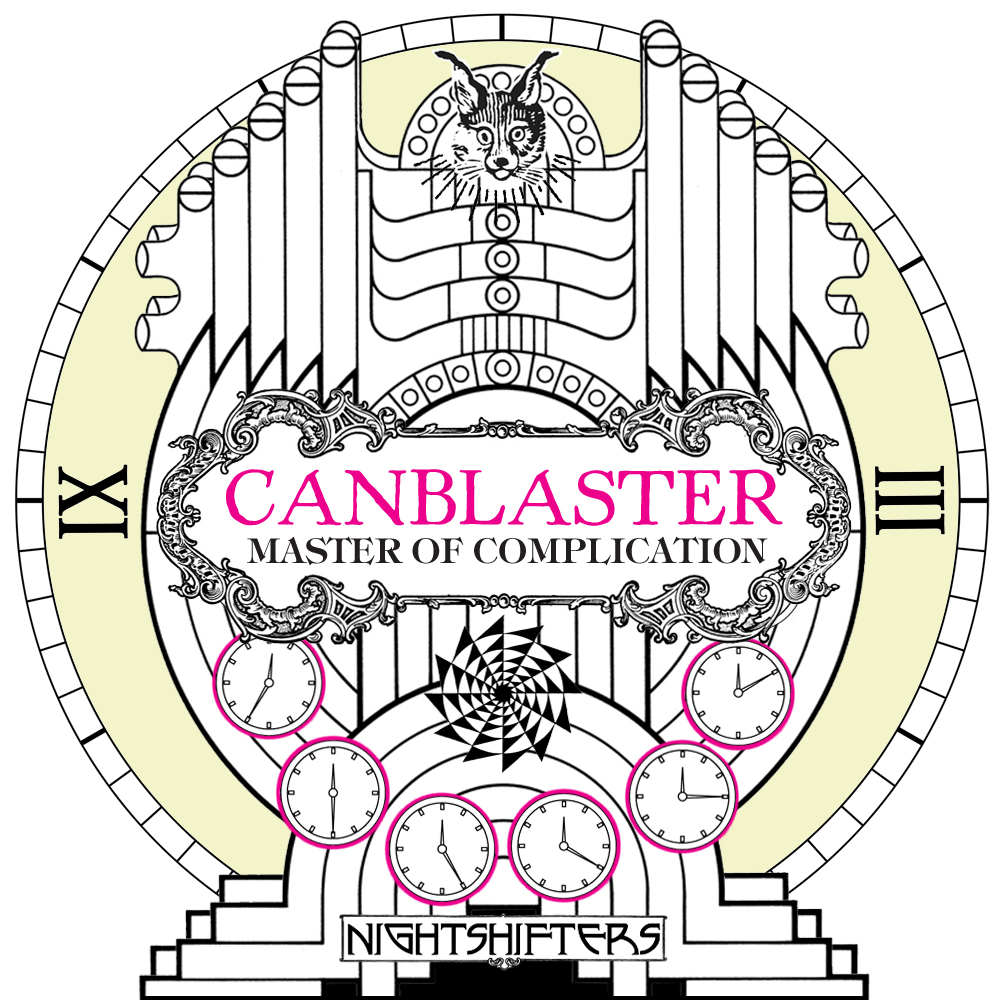 Canblaster - Master Of Complexity - COVER
