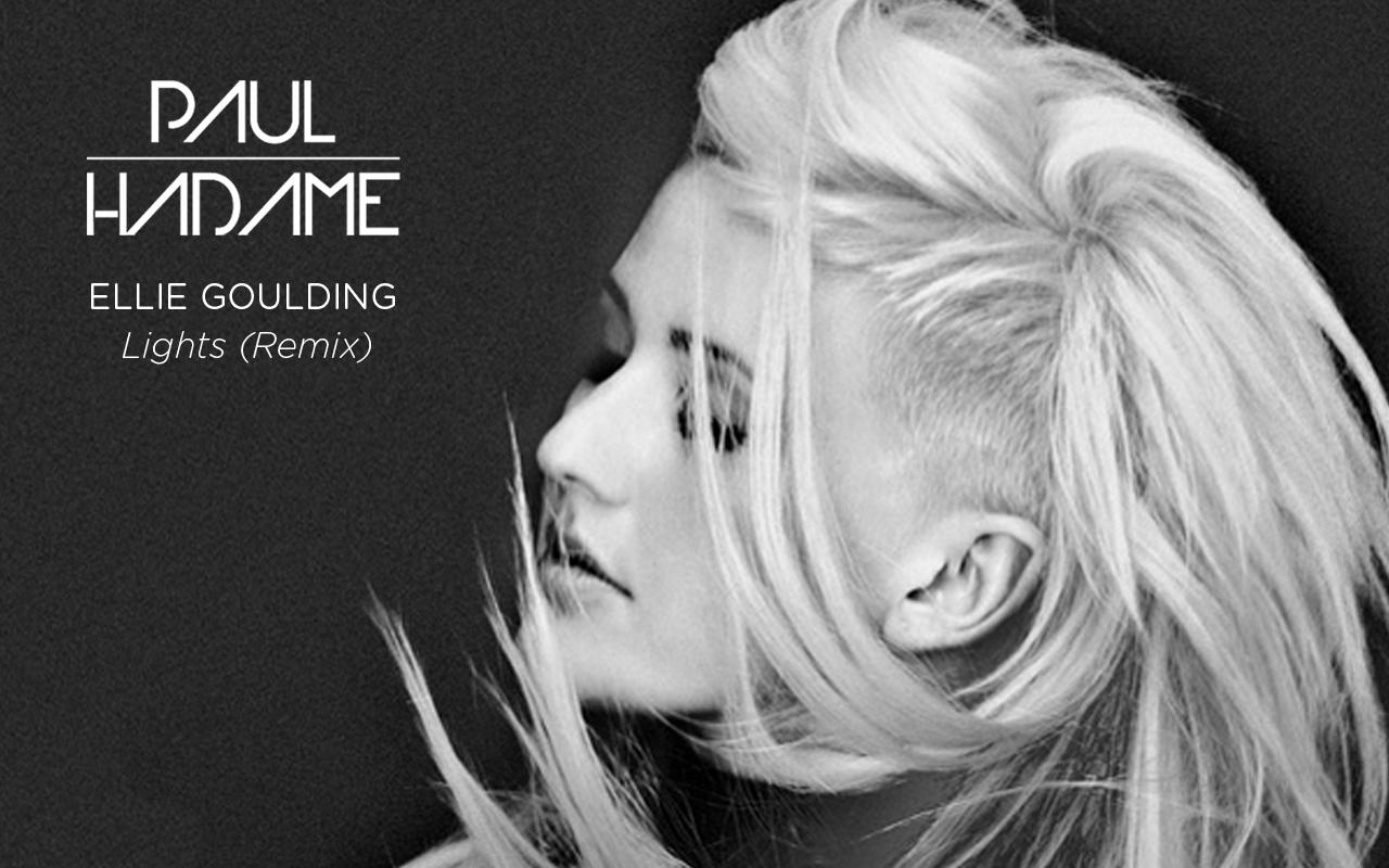 Ellie Goulding - Lights (Paul Hadame Remix artwork)