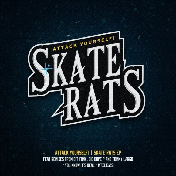 Attack Yourself Skate Rats cover