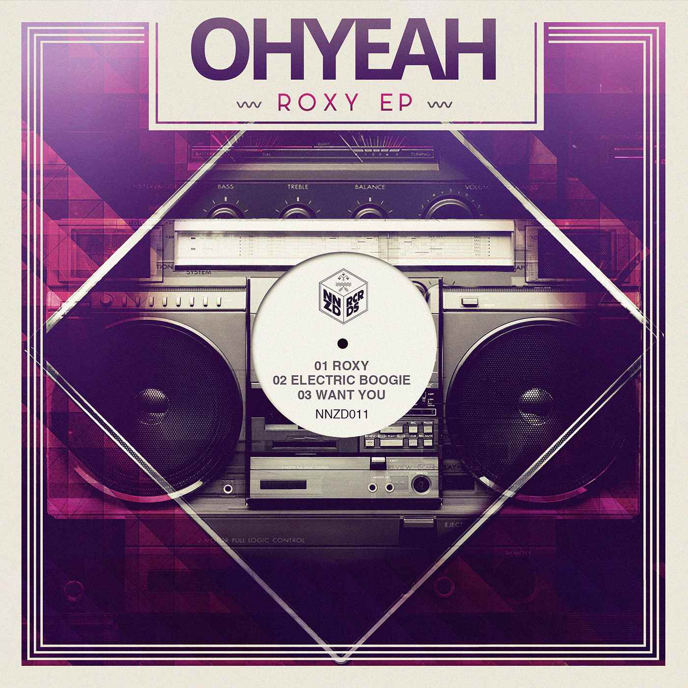 OHYEAH - Roxy EP 2 COVER 1400x1400