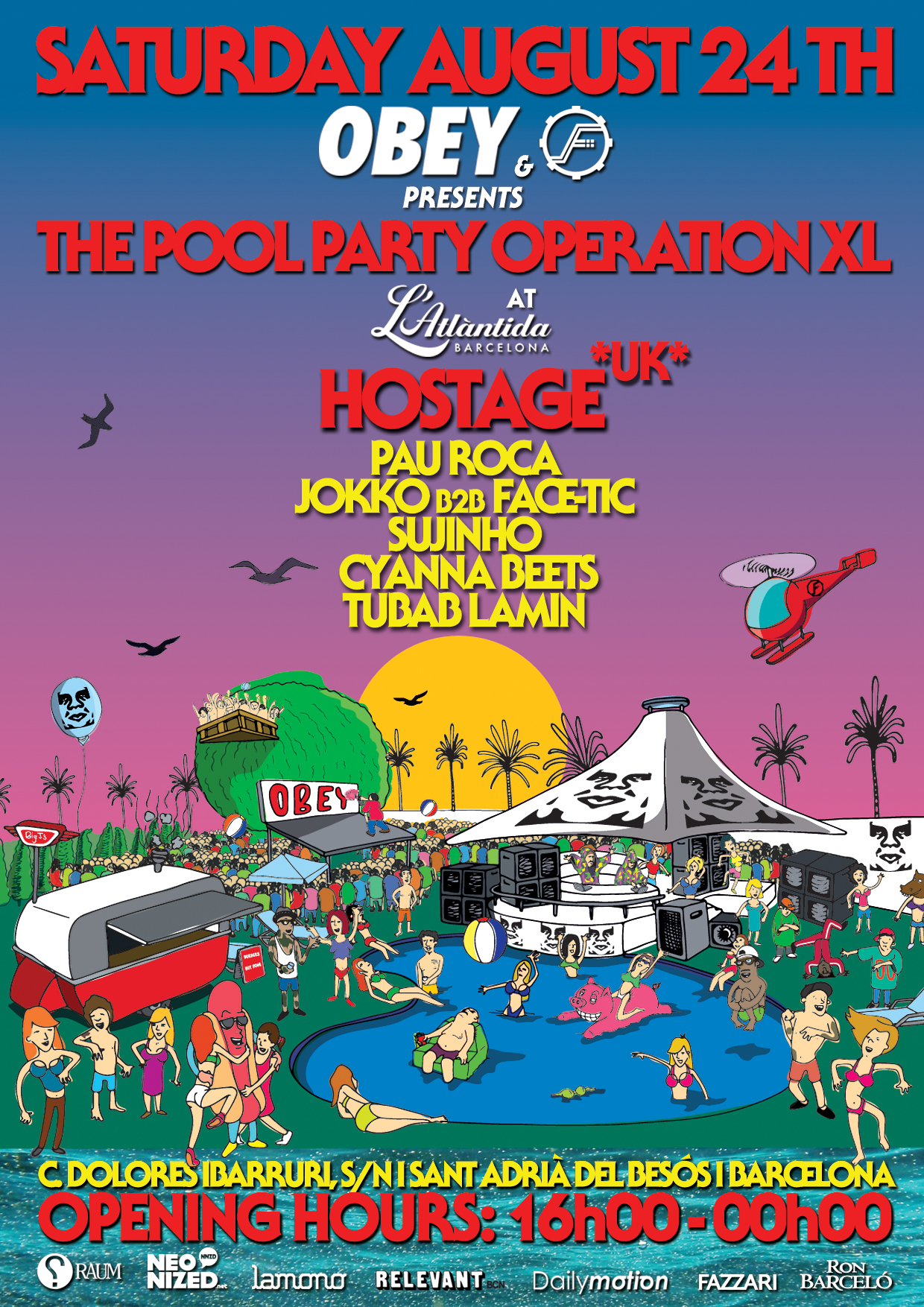 OBEY Pool Party Operation XL Chapter 2