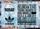Adidas Originals x Boiler Room Matadero Madrid Delorean, young Marco, Kelela, Jam City, Girl Unit, XXXY