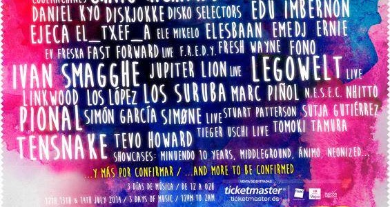 cartel electrosplash 2014